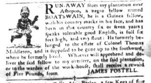 May 31 - South-Carolina Gazette and Country Journal Slavery 3