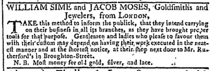 May 4 - 5:4:1768 Georgia Gazette