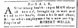 May 6 - South-Carolina and American General Gazette Slavery 2