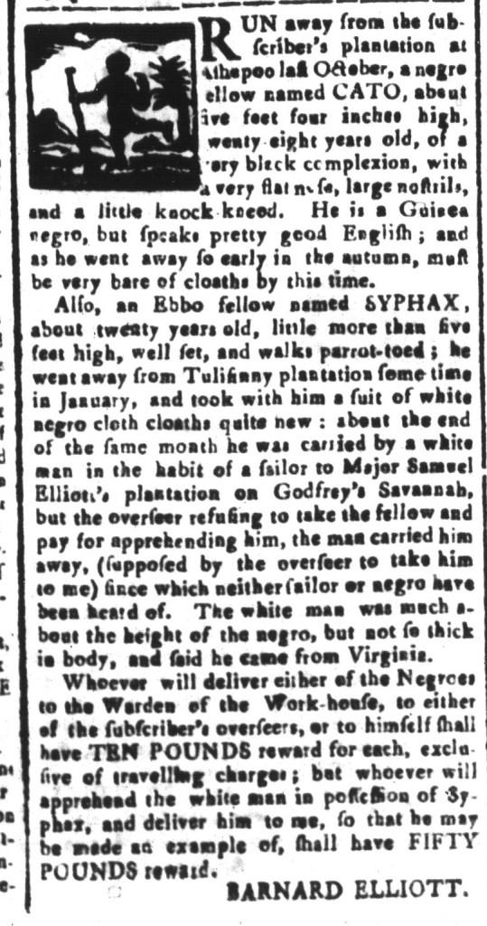 May 6 - South-Carolina and American General Gazette Slavery 7