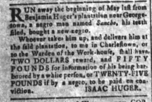 Jul 1 - South Carolina and American General Gazette Slavery 11