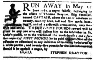 Jul 11 - South-Carolina Gazette Postscript Slavery 6