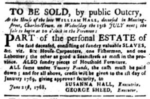 Jul 11 - South-Carolina Gazette Slavery 7