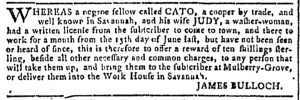Jul 13 - 7:13:1768 Georgia Gazette