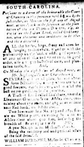 Jul 15 - South Carolina and American General Gazette Slavery 6