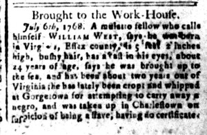 Jul 15 - South Carolina and American General Gazette Slavery 9