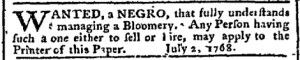 Jul 4 - Pennsylvania Chronicle Slavery 2