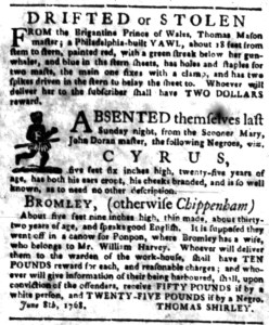 Jul 4 - South-Carolina Gazette Slavery 7