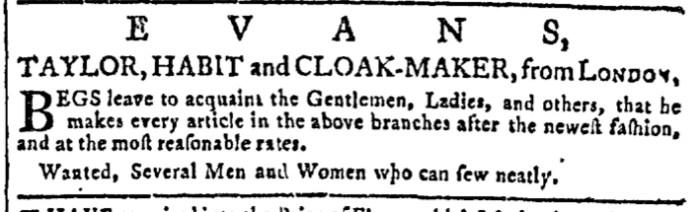Jul 6 - 7:6:1768 Georgia Gazette