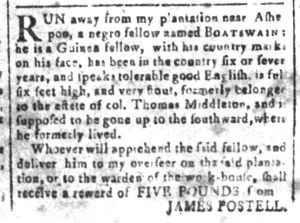 Jun 10 - South-Carolina and American General Gazette Slavery 10