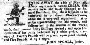Jun 14 - South-Carolina Gazette and Country Journal Slavery 5