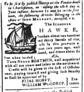 Jun 17 - South-Carolina and American General Gazette Slavery 4