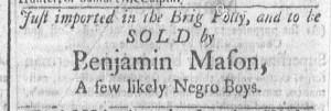 Jun 20 - Newport Gazette Slavery 2