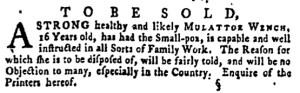 Jun 23 - Pennsylvania Gazette Supplement Slavery 5