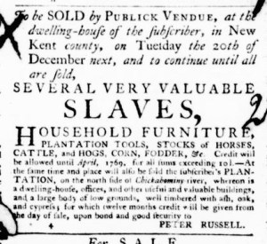 Jun 23 - Virginia Gazette Purdie and Dixon Slavery 6