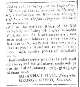 Jun 24 - South-Carolina and American General Gazette Slavery 2