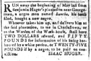 Jun 24 - South-Carolina and American General Gazette Slavery 5