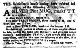 Jun 27 - South Carolina Gazette Slavery 10