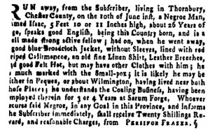 Jun 30 - Pennsylvania Gazette Supplement Slavery 1