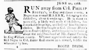 Jun 30 - Virginia Gazette Purdie and Dixon Slavery 3