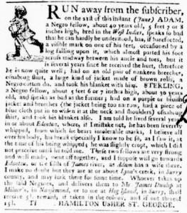 Jun 30 - Virginia Gazette Purdie and Dixon Slavery 6