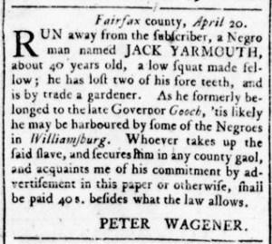 Jun 30 - Virginia Gazette Rind Slavery 6