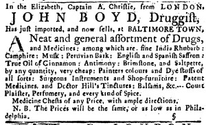 Jun 5 - 6:2:1768 Pennsylvania Journal