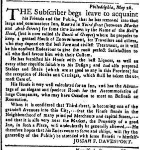 Jun 6 - 6:6:1768 New-York Gazette Weekly Post-Boy