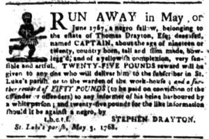 Jun 6 - South Carolina Gazette Slavery 2