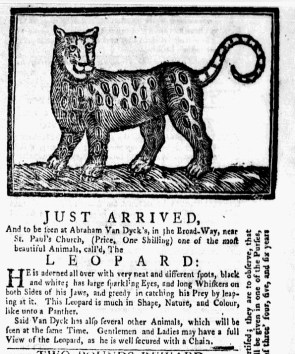 Aug 1 - 8:1:1768 New-York Gazette Weekly Mercury