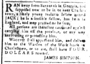 Aug 5 - South-Carolina and American General Gazette Slavery 7
