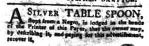 Jul 25 - South-Carolina Gazette Slavery 5