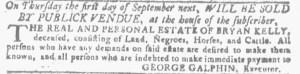 Jul 27 - Georgia Gazette Slavery 9