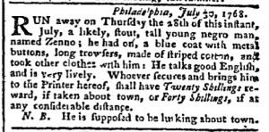 Aug 15 - Pennsylvania Chronicle Slavery 3