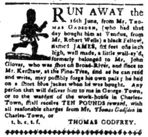 Aug 15 - South-Carolina Gazette Slavery 3