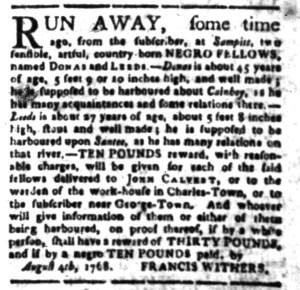 Aug 15 - South-Carolina Gazette Slavery 9
