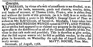 Aug 17 - Georgia Gazette Slavery 10