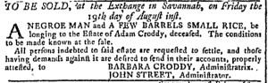 Aug 17 - Georgia Gazette Slavery 9