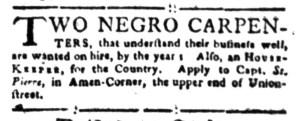 Aug 22 - South-Carolina Gazette Slavery 3