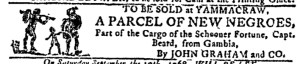 Aug 24 - Georgia Gazette Slavery 7