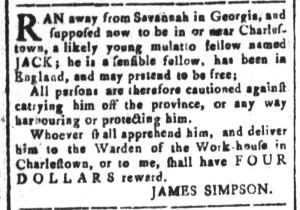 Aug 26 - South-Carolina and American General Gazette Slavery 4