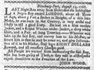 Aug 29 - Boston-Gazette Slavery 2