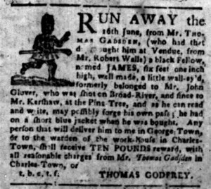 Aug 29 - South-Carolina Gazette Slavery 3