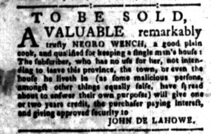 Aug 29 - South-Carolina Gazette Slavery 8