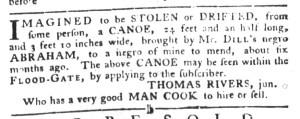 Aug 30 - South-Carolina Gazette and Country Journal Slavery 2