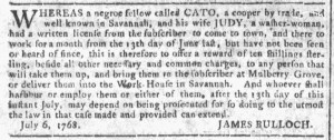 Aug 31 - Georgia Gazette Slavery 3