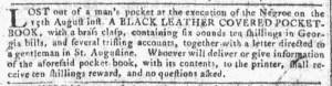 Aug 31 - Georgia Gazette Slavery 6