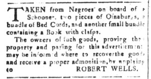 Sep 16 - South-Carolina and American General Gazette Slavery 2