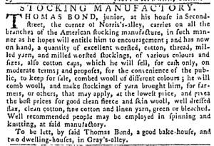 Sep 22 - 9:22:1768 Pennsylvania Gazette