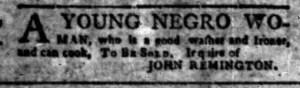 Sep 26 - South-Carolina Gazette Slavery 7